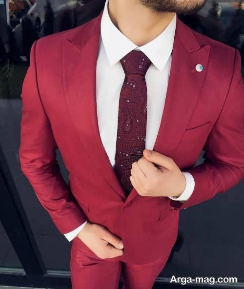 کت و پیراهن شیک مردانه