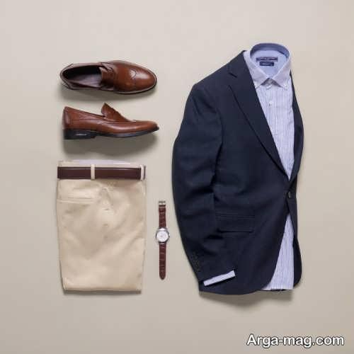 طرح کت و پیراهن مردانه