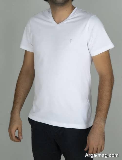 مدل تیشرت مردانه سفید
