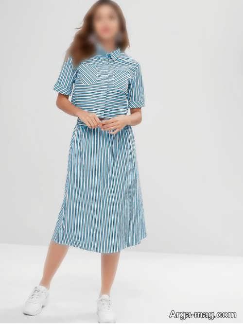 ست دامن و پیراهن زنانه