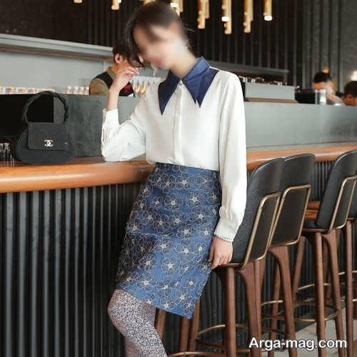 مدل ست پیراهن و دامن زنانه