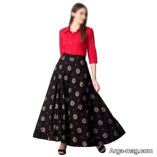 مدل پیراهن و دامن برای خانم ها