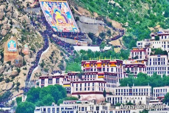 بازدید و آشنایی با دیدنی های تبت