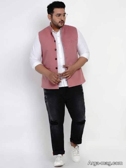 لباس اسپرت مردانه برای افراد چاق