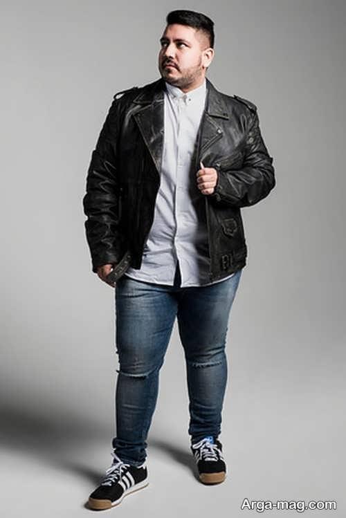 لباس مردانه اسپرت برای افراد درشت اندام