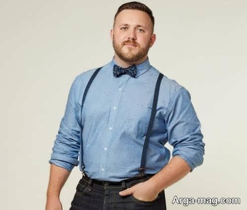 لباس اسپرت برای مردان چاق