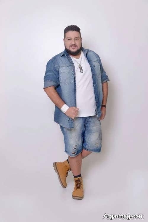 لباس اسپرت زیبا برای مردان چاق