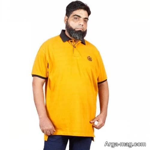 لباس اسپرت شیک برای مردان چاق