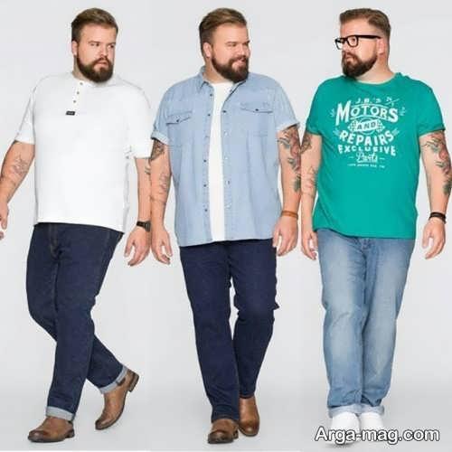 لباس مخصوص برای مردان چاق