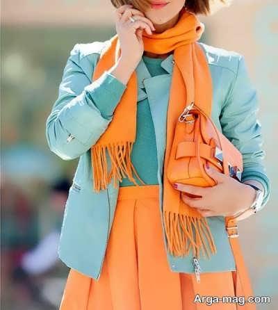آشنایی با استایل لباس های رنگی
