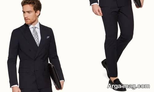 طرح های کراوات مناسب کت شلوار مشکی