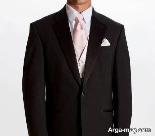 مدل های کراوات مناسب کت شلوار مشکی