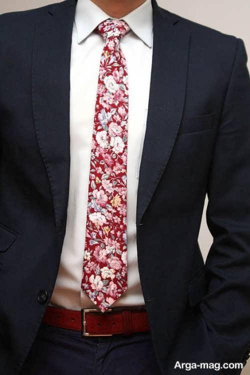 کراوات برای کت مشکی
