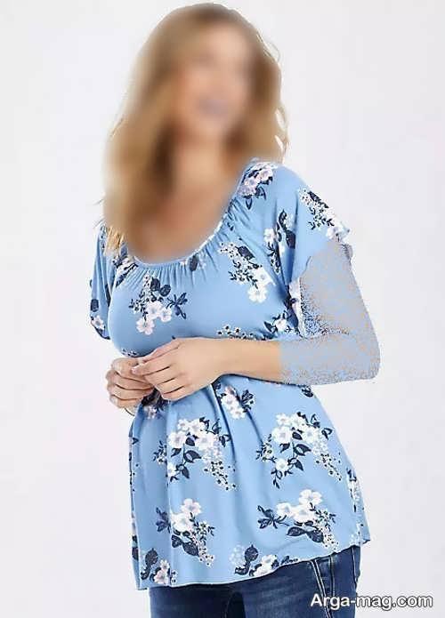 لباس طرح دار بارداری
