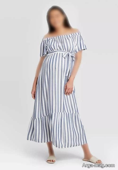 مدل لباس طرح دار تابستانی