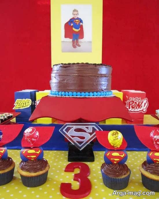 انواع نمونه های خارق العاده و خلاقانه تم تولد سوپرمن