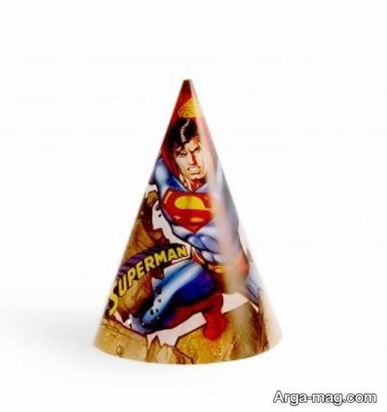 زیباسازی جشن تولد با طرح های سوپرمن