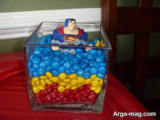 انواع نمونه های جالب و شیک تم تولد سوپرمن