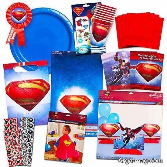 طرح های زیبای از تم میلاد سوپرمن
