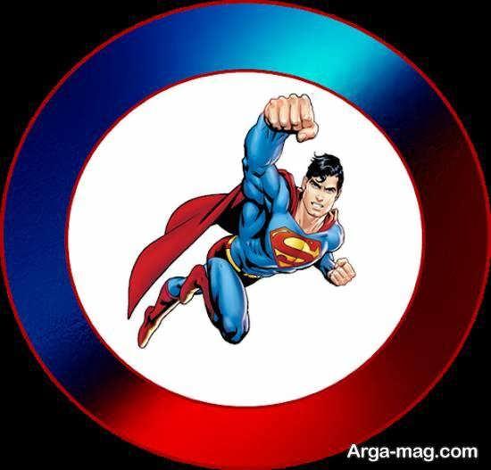 نمونه هایی ایده آل و ناب از تم زادروز سوپرمن