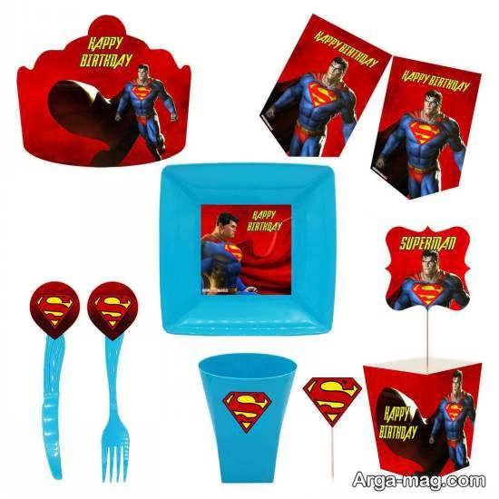 انواع طرح های زیبا و جذاب از تم تولد سوپرمن