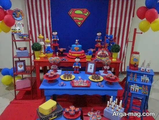 ایده هایی جالب از تم میلاد سوپرمن