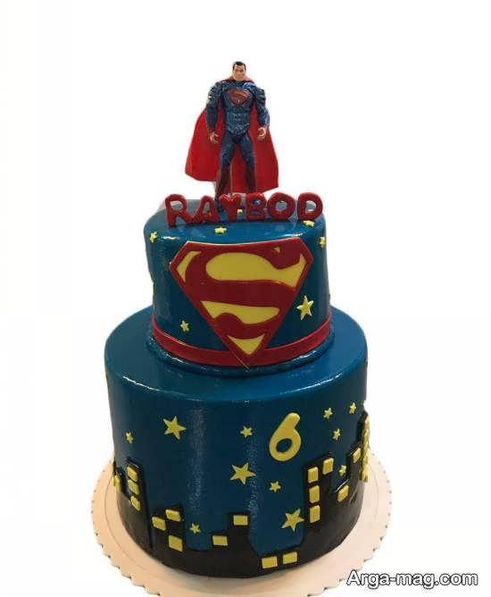 طرح های زیبا و خلاقانه با شخصیت خیالی سوپرمن
