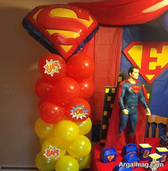 ایده هایی زیبا و دوست داشتنی از تم تولد سوپرمن