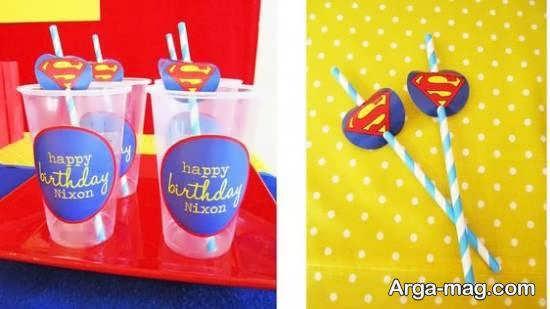 ایده هایی شیک از تم تولد سوپرمن