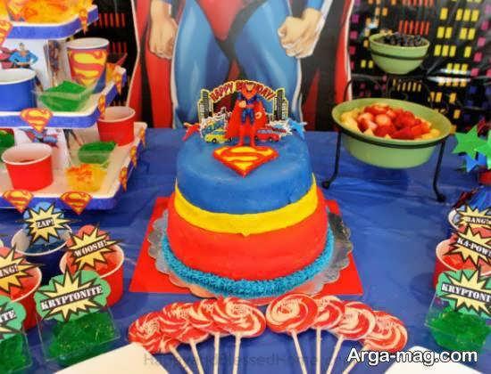 انواع ایده های جالب از تم تولد سوپرمن