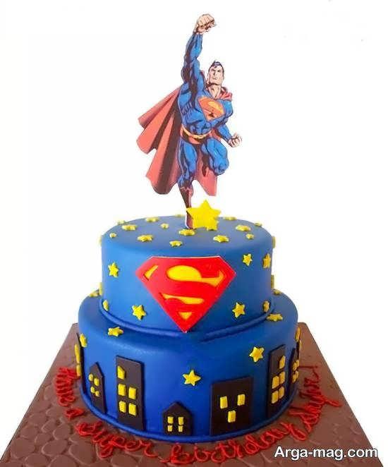 طرح و زمینه تولد سوپرمن برای خوش سلیقه ها