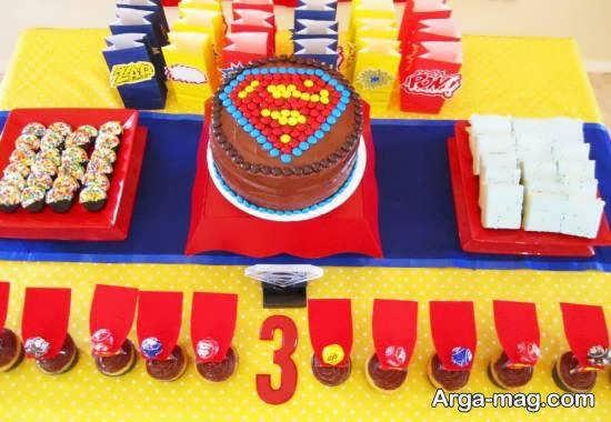 ایده هایی جالب از تم زادروز سوپرمن