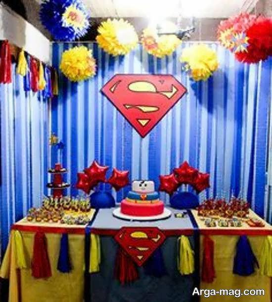 ایده هایی خاص و زیبا از تم میلاد سوپرمن