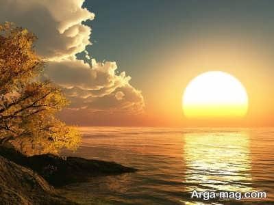 جمله هایی در مورد طلوع خورشید