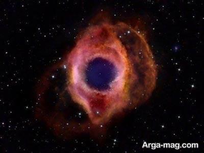 چشم خدا در سحابی هیلکس دیده شده است؟