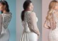 مدل پشت لباس عروس