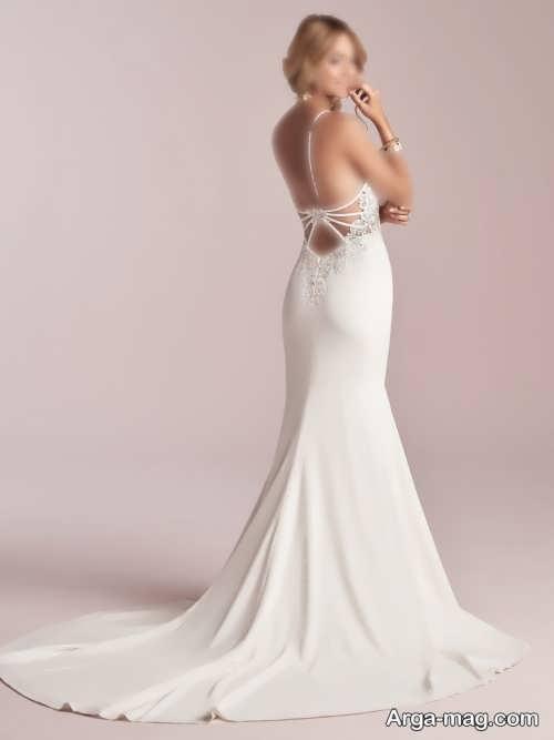 ۶۸ مدل پشت لباس عروس شیک و لاکچری با طراحی روز