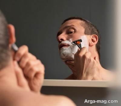 روش اصولی اصلاح صورت آقایان و آسی نرسیدن به پوست