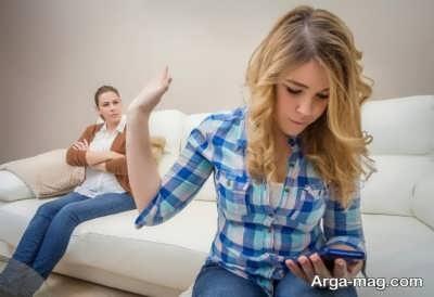 رفتار با پدر و مادر بداخلاق