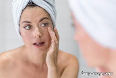 درمان افتادگی پوست