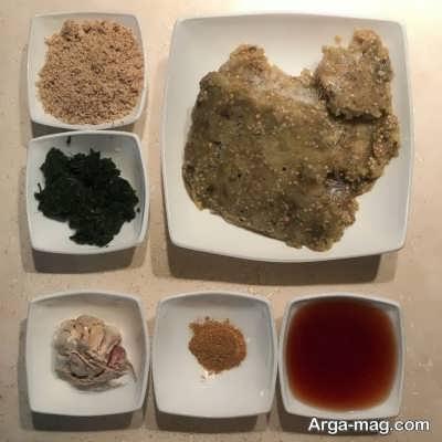 مواد لازم برای تهیه کال کباب