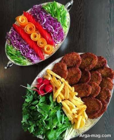 طرز تهیه کتلت گوشت برای ماه رمضان