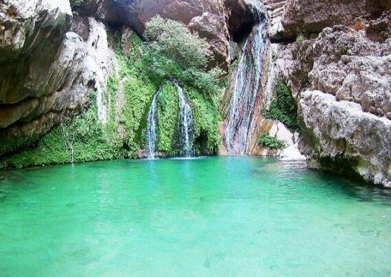 طبیعت آبشار نگین