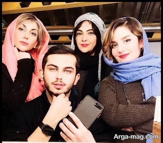 "عکس های ارسلان قاسمی بازیگر سریال ""یاور"""