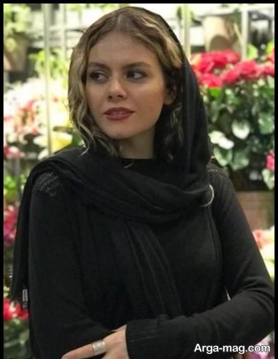 """عکس های منتشر شده از غزال نظر بازیگر سریال """"احضار"""""""