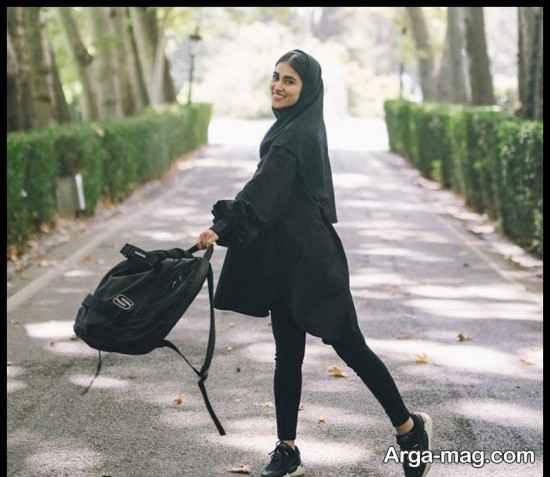 "عکس های آدرینا صادقی بازیگر سریال ""احضار"""