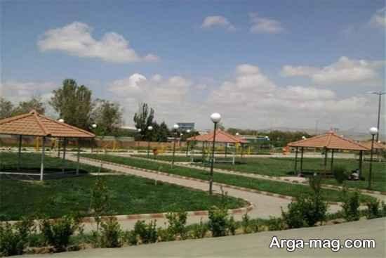جاذبه های پارک تبریز