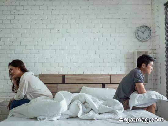 راهکارهای حل مشکل جدا خوابیدن زن و شوهر