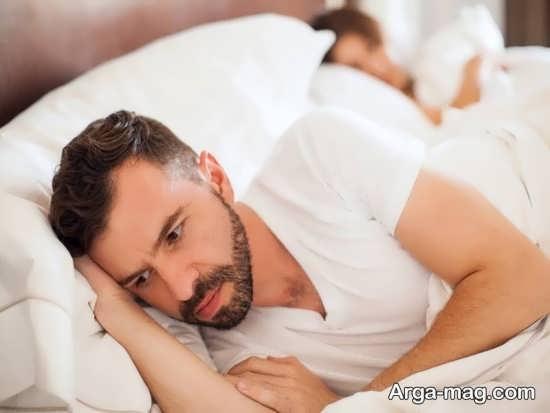 علل خوابیدن زوجین در بستر جداگانه