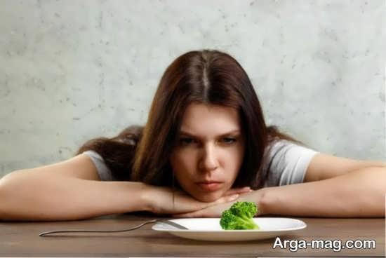 مشکلات ناشی از بی اشتهایی در حاملگی